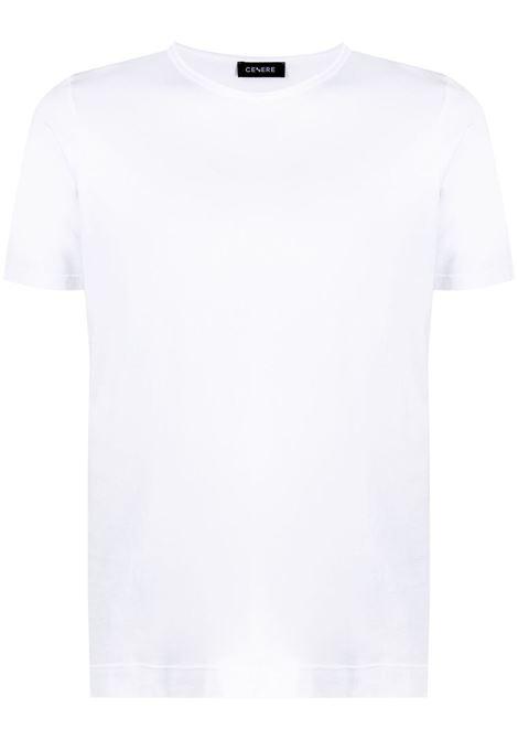 T-shirt bianca CENERE MAGLIERIA | T-SHIRT | 311J2201000001