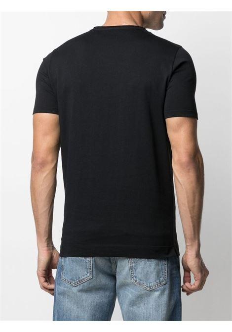 T-shirt nera CENERE MAGLIERIA | T-SHIRT | 311J2201000016