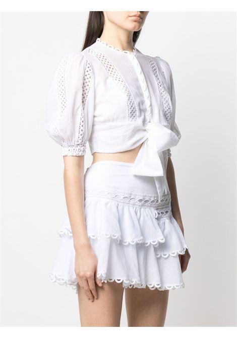 Blusa bianca CHARO RUIZ IBIZA | BLUSE | 211105WHITE