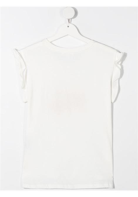 T-shirt bianca CHLOE KIDS | T-SHIRT | C15B68T117