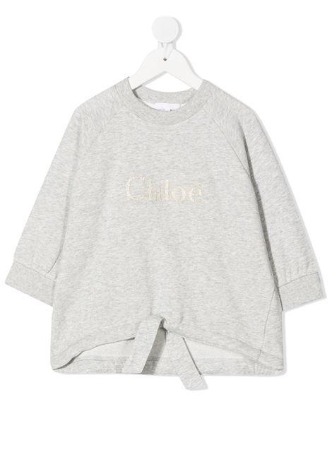 Felpa grigia CHLOE KIDS | FELPE | C15B79A32