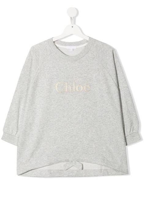 Grey sweatshirt CHLOE KIDS | SWEATSHIRTS | C15B79TA32