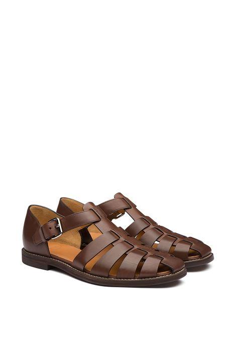Sandalo marrone CHURCH'S | SANDALI | EX0002FF000009XMF0AEV