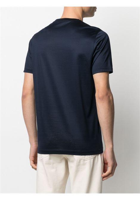 T-shirt blu CORNELIANI   T-SHIRT   87G5001125000002