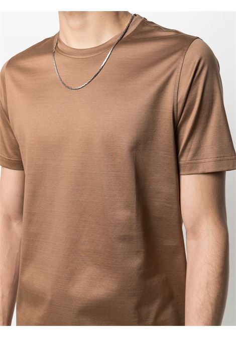 T-shirt marrone CORNELIANI   T-SHIRT   87G5001125000034
