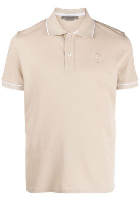 Polo beige CORNELIANI | 87G5721125050036