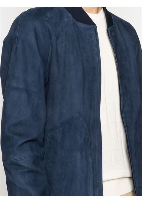 Bomber blu CORNELIANI | BOMBER | 87L5A61120129001