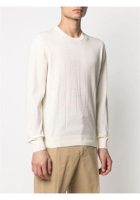 Maglione bianco CORNELIANI | MAGLIONE | 87M5151125120073