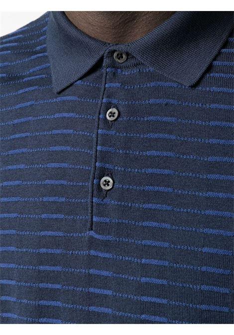 Polo blu CORNELIANI | MAGLIE | 87M5621125162001