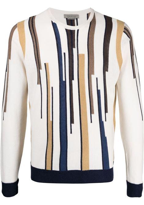 Maglione beige CORNELIANI | MAGLIONE | 87M5651125161036