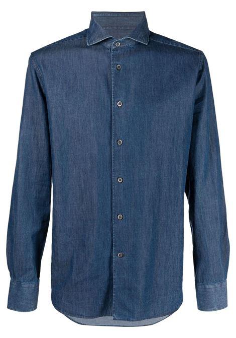 Camicia blu CORNELIANI | CAMICIE | 87P1221111057002