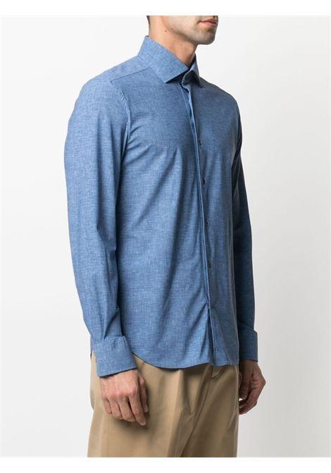 Camicia blu CORNELIANI | CAMICIE | 87P1781111477008
