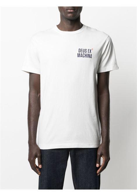 T-shirt bianca DEUS | T-SHIRT | DMP201826FVWH