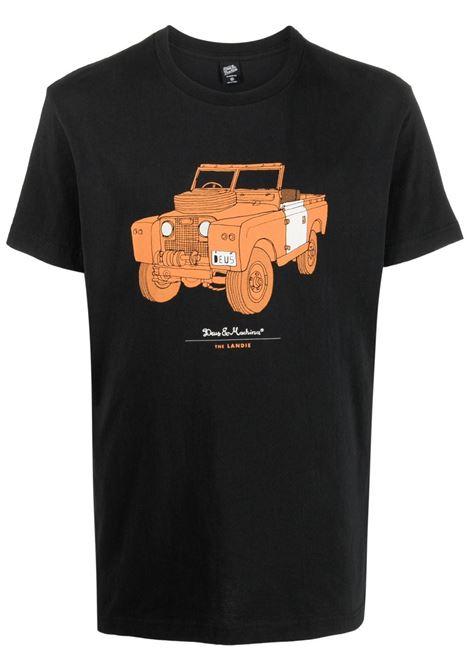 T-shirt nera DEUS | T-SHIRT | DMW41808VBLK