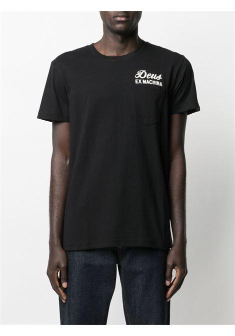 T-shirt nera DEUS | T-SHIRT | TDMS41065RBLK
