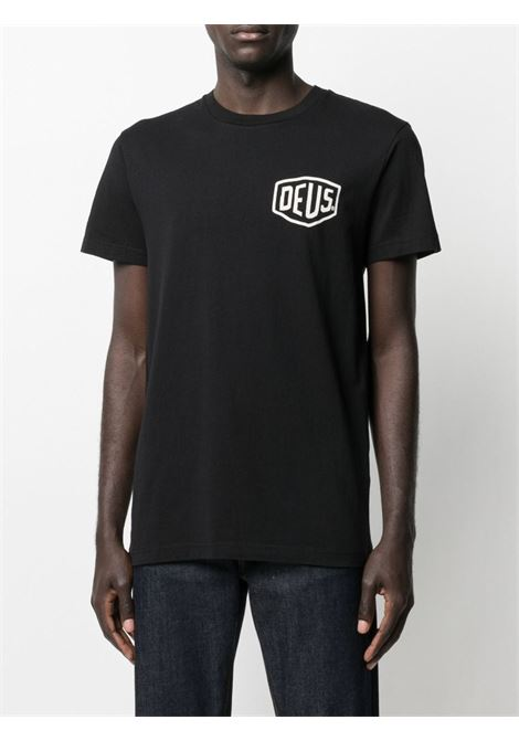 T-shirt nera DEUS | T-SHIRT | TDMW41808ZBLK
