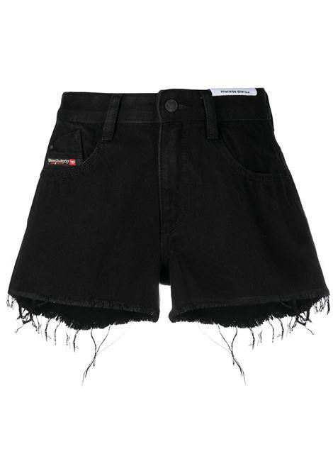 Shorts nero DIESEL | SHORTS | 00SQQ30ABBV02