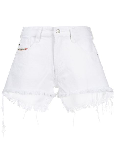 Short bianco DIESEL | SHORTS | 00SQQ30ABBY01