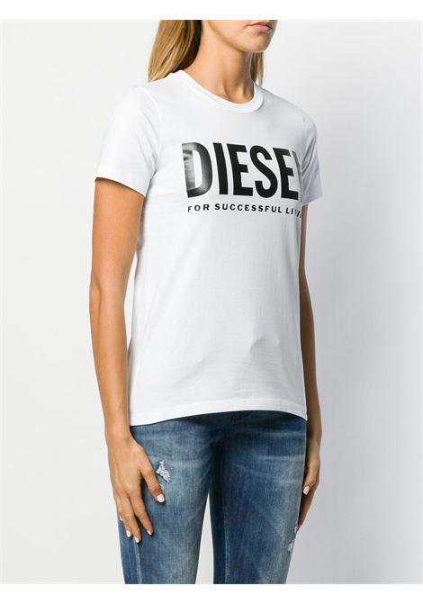 T- shirt bianca DIESEL | T-SHIRT | 00SYW80CATJ100