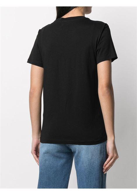 T-shirt nera DIESEL | T-SHIRT | 00SYW80CATJ9XXB