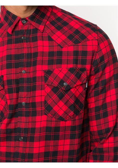 Camicia quadri DIESEL | CAMICIE | A013630EBAD42A