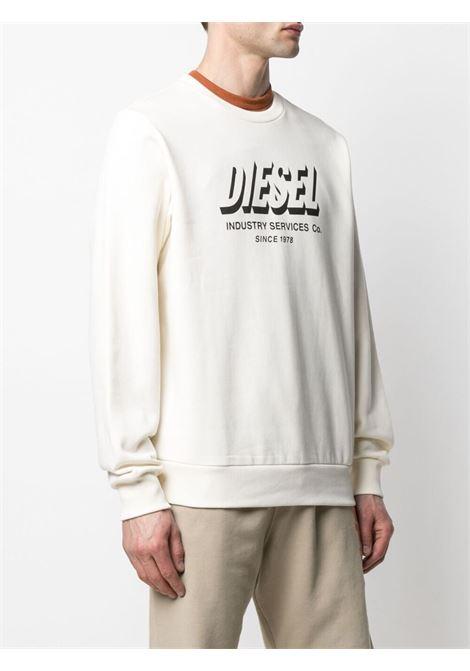 White sweatshirt DIESEL | SWEATSHIRTS | A018020GRAL129