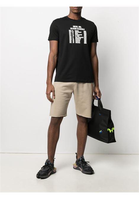 T-shirt nera DIESEL | T-SHIRT | A018410HAYU9XX