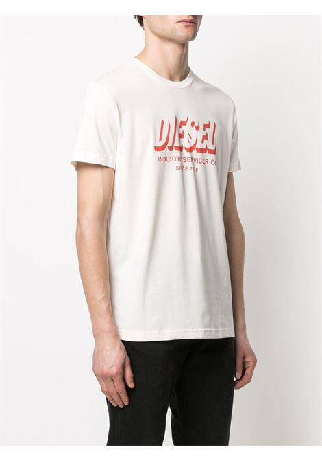 T-shirt bianca DIESEL | T-SHIRT | A018490GRAM129