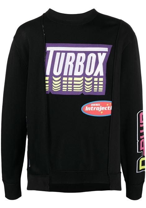 Black sweatshirt DIESEL | SWEATSHIRTS | A021740LBAM9XX