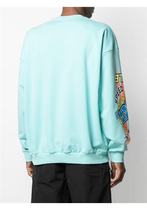 Blue sweatshirt DIESEL | SWEATSHIRTS | A022860KAXU8MI