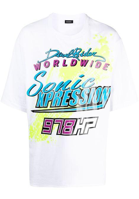 White shirt DIESEL | T-SHIRT | A022900JBAV100