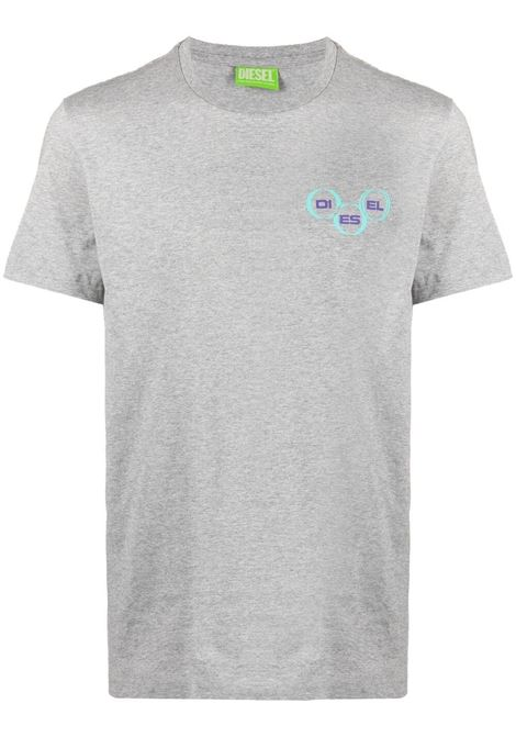 Grey t-shirt DIESEL | T-SHIRT | A023790GRAI9CB