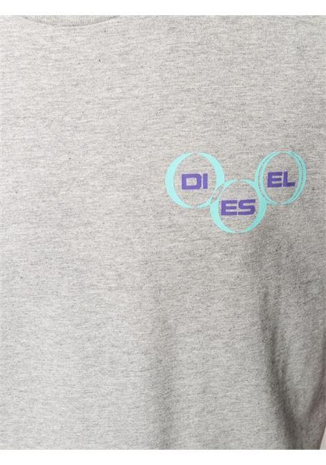 T-shirt grigia DIESEL | T-SHIRT | A023790GRAI9CB