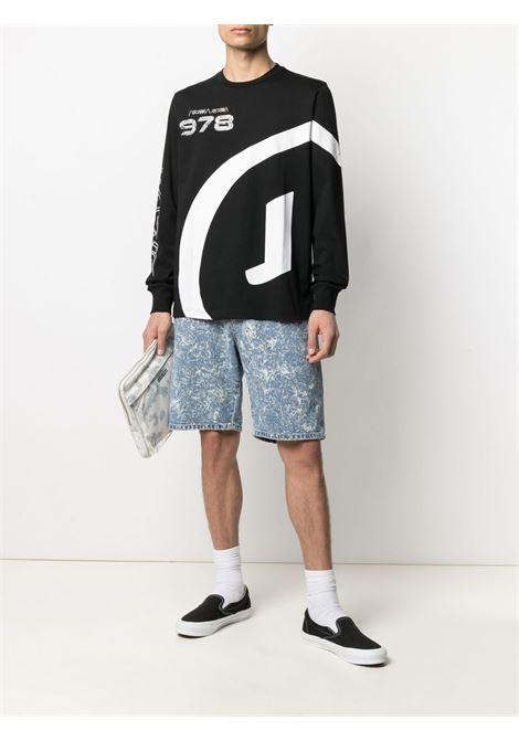 Black t-shirt DIESEL | T-SHIRT | A024360CATM9XX