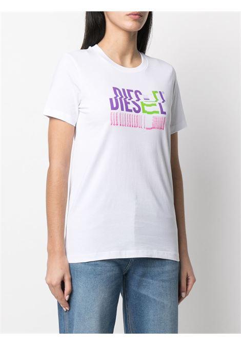 T-shirt bianca DIESEL | T-SHIRT | A041590AAXJ100