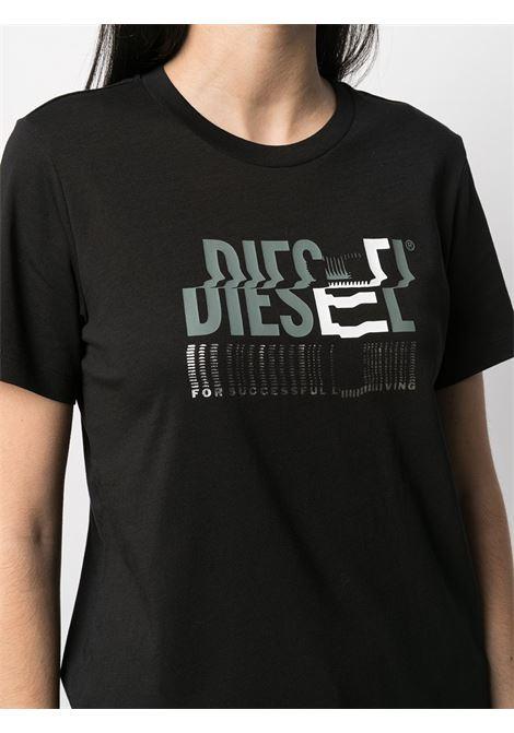 T-shirt nera DIESEL | T-SHIRT | A041590AAXJ9XXA