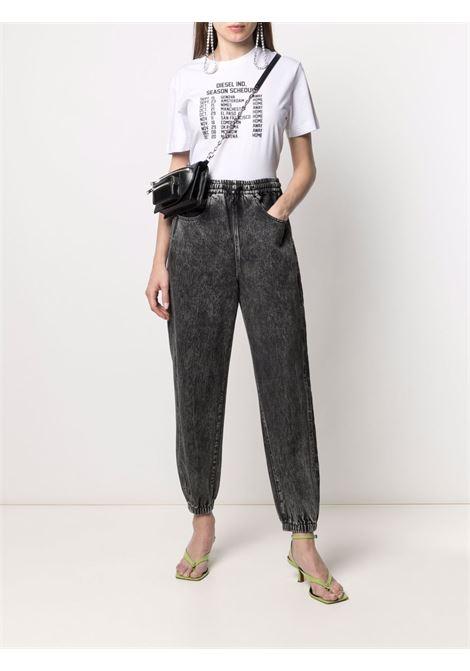 T-shirt bianca DIESEL | T-SHIRT | A043730HAYU100