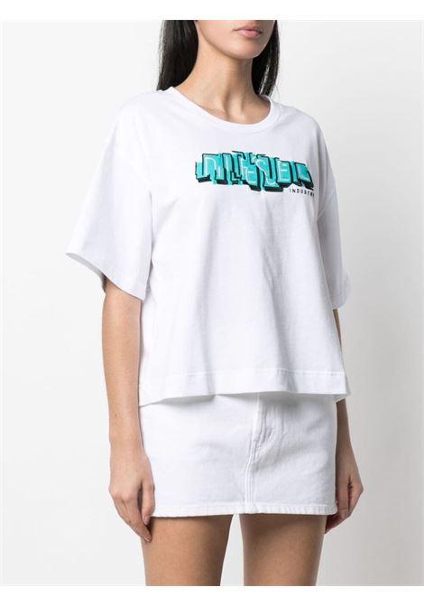 T-shirt bianca DIESEL | T-SHIRT | A044120QBAE100