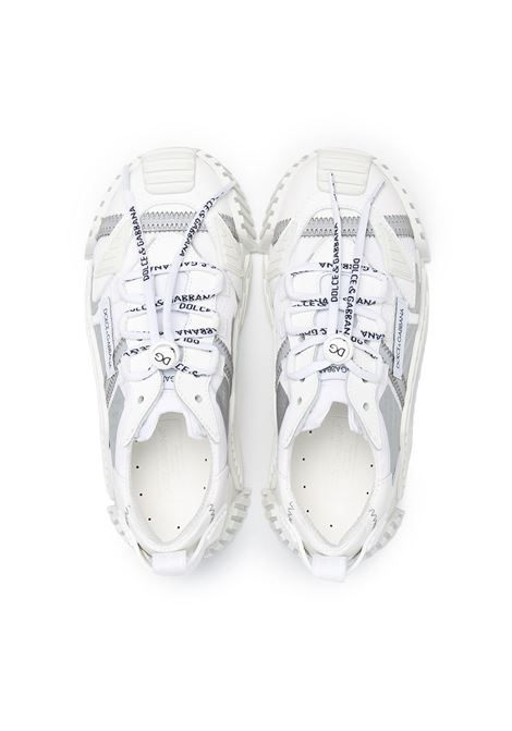 Sneakers bianca DOLCE & GABBANA KIDS | SNEAKERS | DA0974AO2248B930