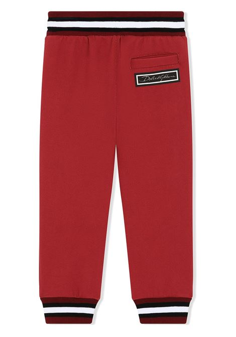 Pantalone rosso DOLCE & GABBANA KIDS | PANTALONI | L4JPR7G7XQCHB2IR