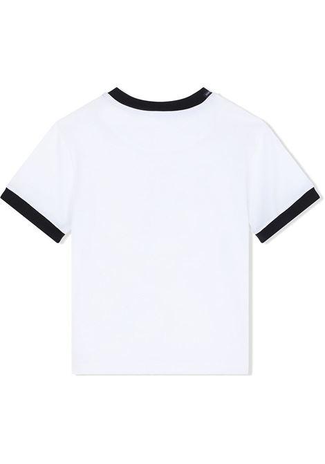 T-shirt bianca DOLCE & GABBANA KIDS | T-SHIRT | L4JT8AG7WUFHW2FH