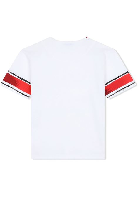 T-shirt bianca DOLCE & GABBANA KIDS | T-SHIRT | L4JTAUG7WUIHS2AB