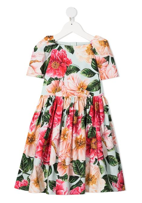 Multicolor dress DOLCE & GABBANA KIDS | DRESS | L51DQ6HS5H5HC2AI