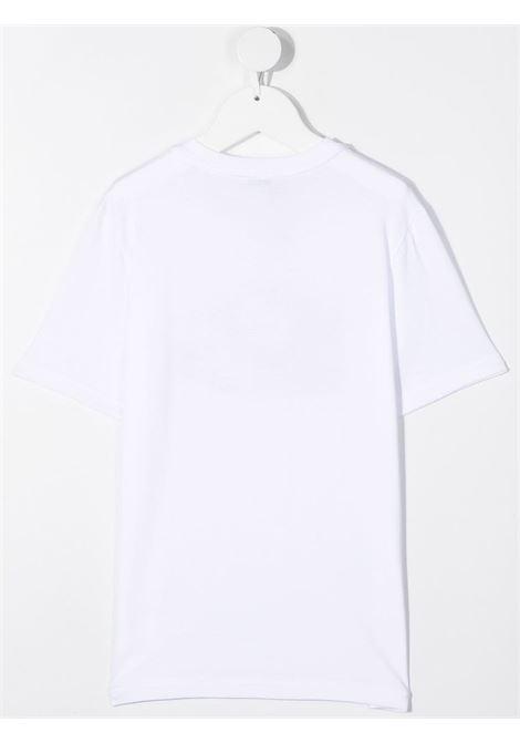 T-shirt bianca DOLCE & GABBANA KIDS | T-SHIRT | L5JTCGG7XMOW0800
