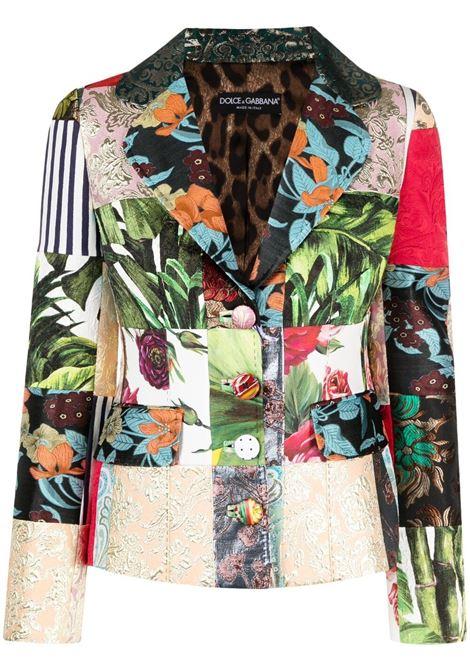 Multicolour jacket DOLCE & GABBANA | JACKETS | F26BOTGDX78S9000