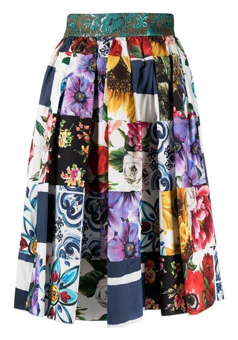 Multicolour skirt DOLCE & GABBANA |  | F4B3WTGDY03S9000