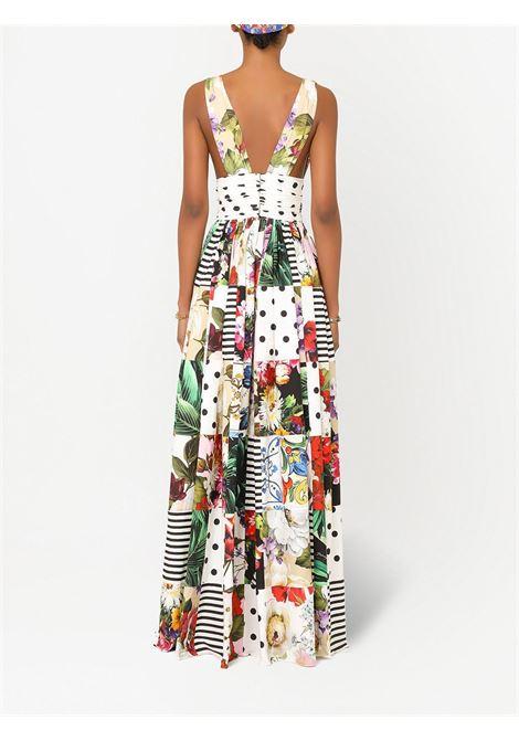 White dress DOLCE & GABBANA | DRESS | F6K8PTGDX82S9000