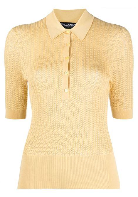Yellow Polo shirt DOLCE & GABBANA |  | FX864TJASNRA0007
