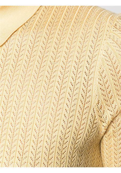 Polo gialla DOLCE & GABBANA | POLO | FX864TJASNRA0007