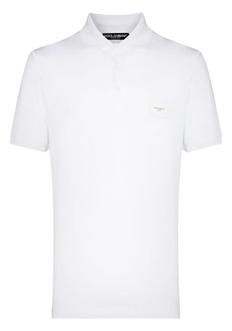 Polo bianca DOLCE & GABBANA | POLO | G8KK1TFU7ENW0800